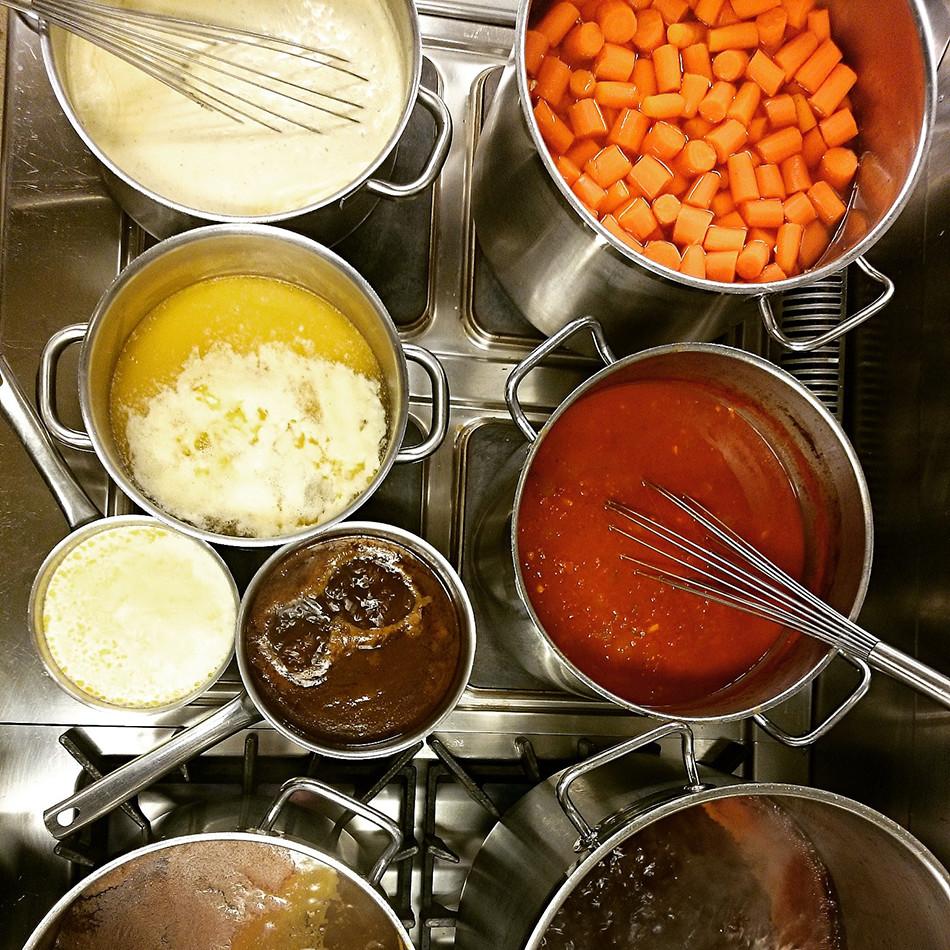 Times Kitchen serverar lunch mån - fre.